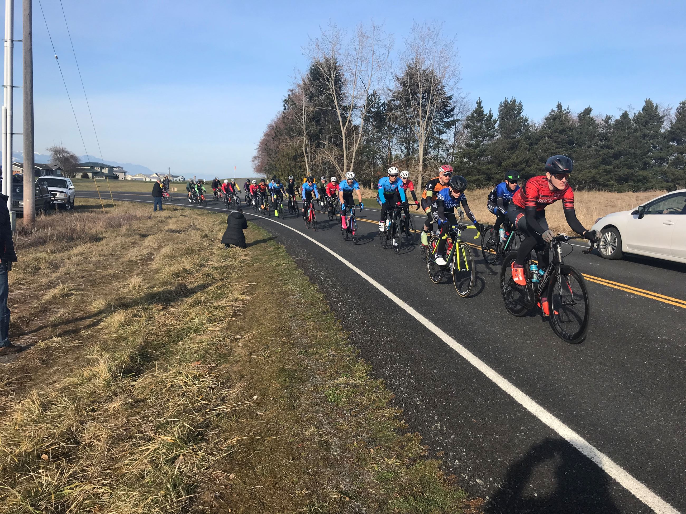 March cycling in Sunny Sequim