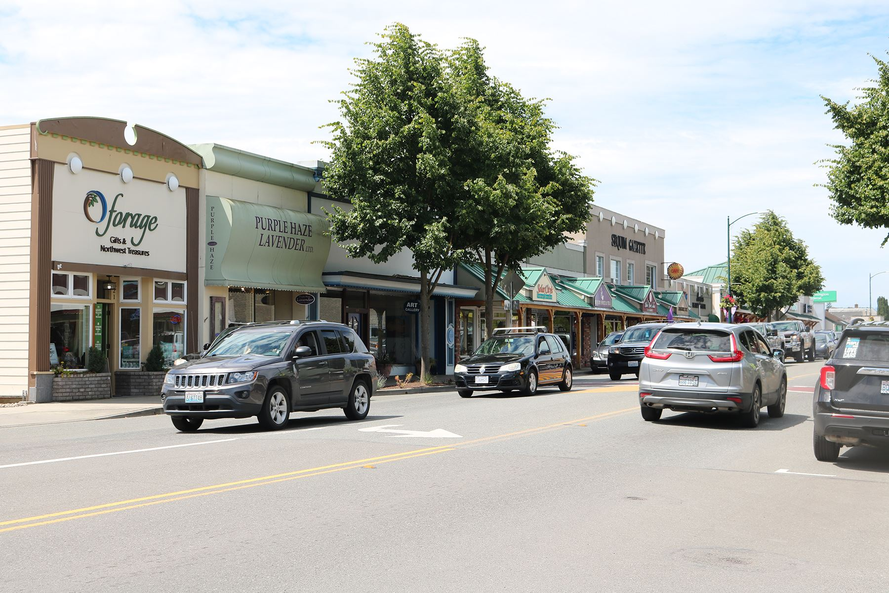 Downtown Sequim Washington Street