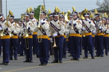 Sequim marching band