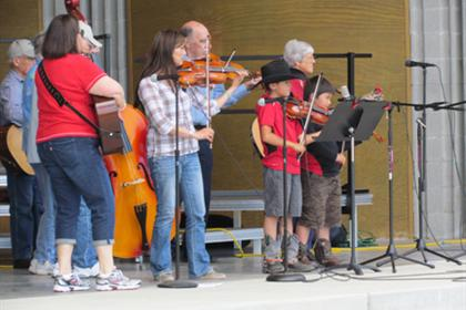 Fiddlers of all ages