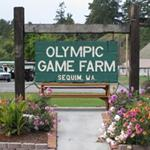 Olympic Game Farm Sign