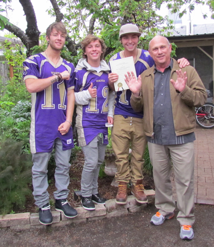 Mayor with Emblem3