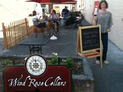 wind rose cellars patio
